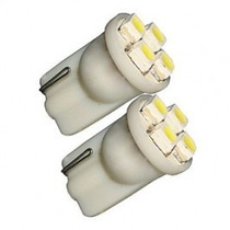 Lâmpada Led Esmagad Pingo Hi Power 4 Leds 12v Branc Pct C/10