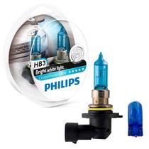 Lâmpadas Philips Crystal Vision Ultra Hb3/9005 Super Brancas