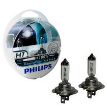 Kit Lâmpada Philips X-treme Vision H7 55watts 12volts (par)