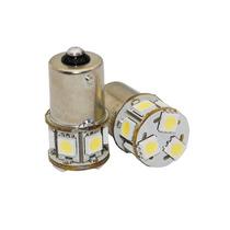 Lâmpada 8 Leds Luz Branca 2pcs 1 Polo 67 24v P/caminhão