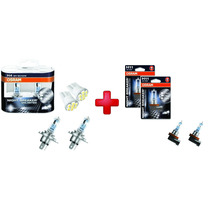 Lampada Osram Night Breaker Unlimited H11 H4 Par Farol 110%