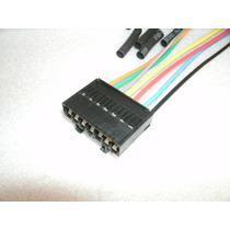 Soquete Plug Conector Lanterna Traseira Fiat Uno 7 Vias