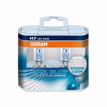 Par De Lâmpadas H7 12v 55w Cool Blue Intense Osram 64210cbl
