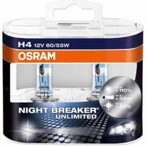 Lâmpadas Farol Alto Spacefox 2009 Osram Night Breaker-h4