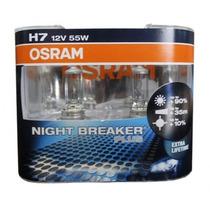 Lâmpadas Farol Baixo H7 C3 2010 - Night Breaker