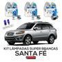 Kit Lâmpadas Super Brancas Tech One Santa Fé H7 + H7 + H27