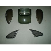 Kit Lentes Fumê Setas Lanterna Biz 100 1998 Até 2005