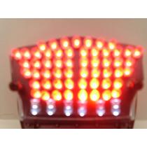 Placa P/ Cb300 E Xre300 56 Leds Alto Brilho -lanterna/freio