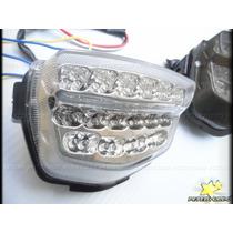 Lanterna Cbr 1000 Rr Led Com Seta Integrada Honda 2008-12