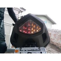 Lanterna Sinaleira Fumê Led Cbr 600f Cb1000 R Hornet 2012/13