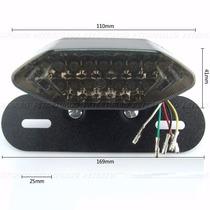 Lanterna Pisca Integrado Led Universal C/ Luz De Placa Setas