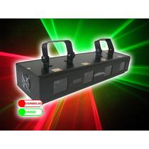 Laser Rg 4 Saidas 480mw Verde+vermelho Pronta Entrega!