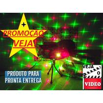 Veja Projetor Laser Holografico Canhão Efeitos Especiais 3d!