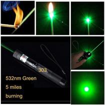 Laser Pointer Verde 8000mw Acende Fósforo C/ Chave 2 Modos
