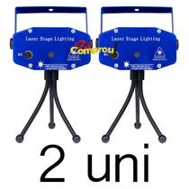 Kit 2 Projetor Laser Holográfico Luzes Festa - Frete Grátis
