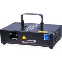 Laser B2000 Rgb 300mw Dmx Áudio-rítmico, Mais De 300 Efeitos