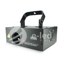 E-led Laser Azul 500mw, Dmx, Sensor De Som, Strobo Prof.