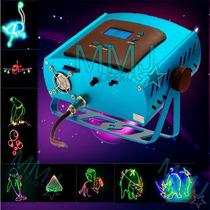Laser Rgb 3d Escreve Nome Djs, Festas, Clubes