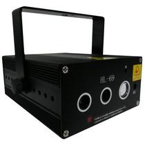 Laser Holografico Verde Vermelho + Led Azul 250mw Hl-69