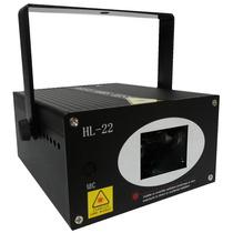 Projetor Holográfico Laser Com Raios Dj 300mw Exclusivo Hl22