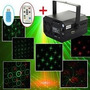 Laser Projector For Dj Ktv Disc Controle Remoto 3 Leds Mp3