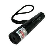 Super Caneta Laser Pointer Verde 10000mw Ultra Forte + Kit