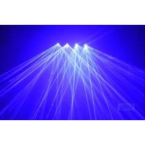 Laser Show 4 Saidas Azul Royal 300mw + Case