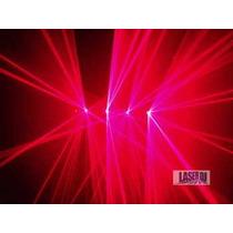 Laser Vermelho 4 Saídas - Dmx , Multi Efeitos, Eventos Festa