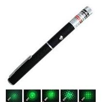 Caneta Laser Verde 1000mw Com 5 Pontas