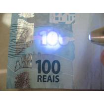 Testa Nota Falsa - Chaveiro 3 X 1 Lanterna Luz Negra Laser
