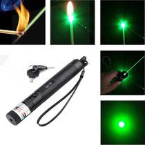 Laser Pointer Verde 20000mw Acende Fósforo , C/ Chave