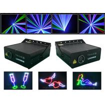 Laser Show L2455 Rgb 2w Grafico, Animado,completo+software