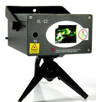 Projetor Holográfico Laser De Raios Vermelho / Verde Hl-22