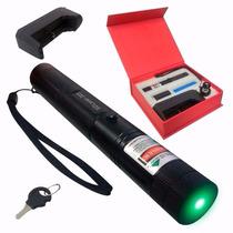 Caneta Laser Pointer Verde Longo Alcance Acima De 16 Km Cp48