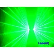 Laser Show Verde Duplo 50+50mw - Iluminação Profissional