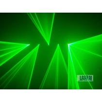 Laser Show 5 Saidas Verde 50mw - Iluminação Profissional Dj