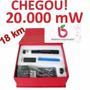 Caneta Laser Pointer 10000mw 10km Verde Completo P.entrega