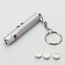 Laser Pointer Vermelho E Lanterna - 2 Em 1 - Frete Grátis