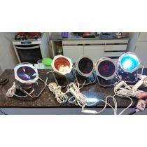 Kit Iluminação Palco / Festa Par 36 Com Sequenciador E Cabos