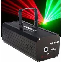Laser Para Djs Mr Light 150 Mw Verde & Vermelho Com Efeitos