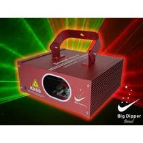 K800 Laser Big Dipper Vermelho Verde 150mw Dmx Bivolt, Áudio