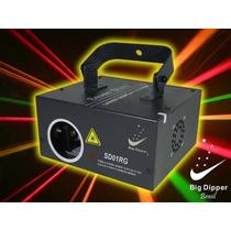 Sd01rg - Laser Verde/vermelho/amarelo 200 Mw Faz Animações