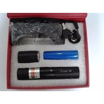 Caneta Laser Pointer Verde 20000mw Kit+carregador+bateria
