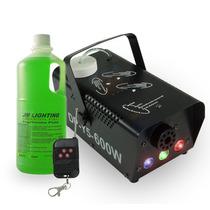 Maquina Fumaça 600w Iluminação Rgb Controle Sem Fio + Fluído