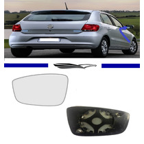 Lente E Base Retrovisor Gol G6 Saveiro Fox Original Ld
