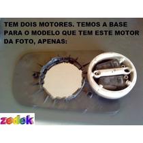 Base+lente Espelho Retrovisor Tempra Elétrico- Esquerda