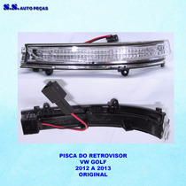 Pisca Golf Pisca Retrovisor Golf 2012 2013 Original Vw