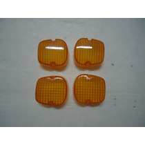 Lente Pisca Xls 125 / Xl 250 / Cb 400 / 450 (4 Peças)