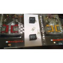 Pisca Led Universal M. Rizoma Aluminio + Rele Grátis