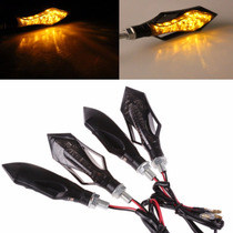 Pisca Setas Led Moto 4 Peças Cb300 Hornet Cb1000 Xj6 Ninja